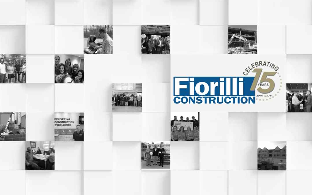 Celebrating 15 years making a difference in Construction