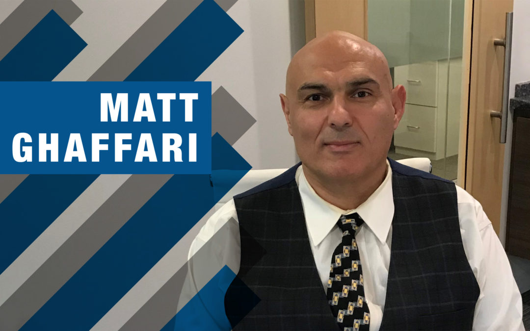 Meet Matt Ghaffari, Client Relationship Manager