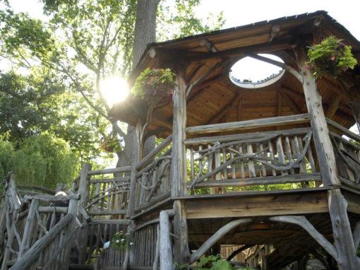 Cleveland Botanical Gardens Treehouse