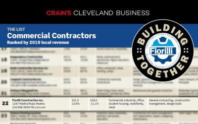 Fiorilli Construction – Crain's Top Contractors List